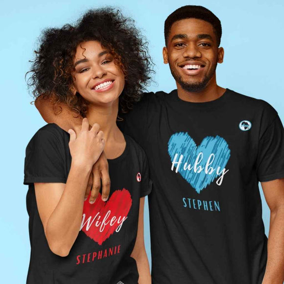 T Shirt | Womens | Wifey Heart