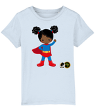 BTMR BlackLikeMe 'Blue' SuperHeroine  T Shirt
