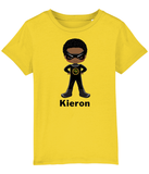Black SuperHero T Shirt