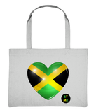 Large Heavyweight Eco Friendly Shopping Bag - I Love Jamaica