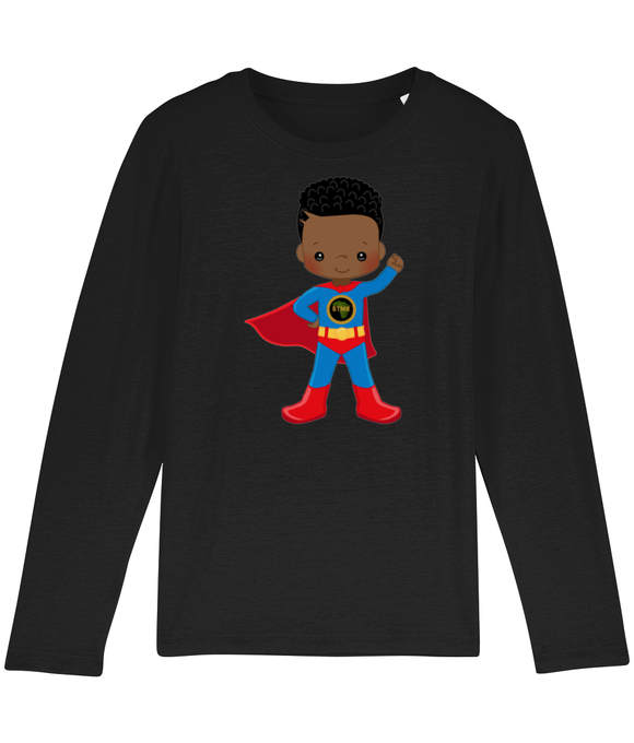 T Shirt | Long Sleeved | Blue SuperHero
