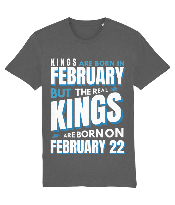 Personalised T Shirt | Real Kings are Born..
