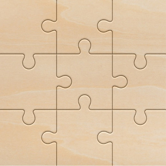 Plywood 9 Piece Jigsaw
