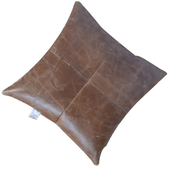 Scatter Cushion | Buffalo Hide Leather