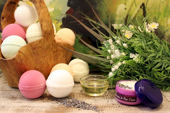 Essential Oils Bath Balls