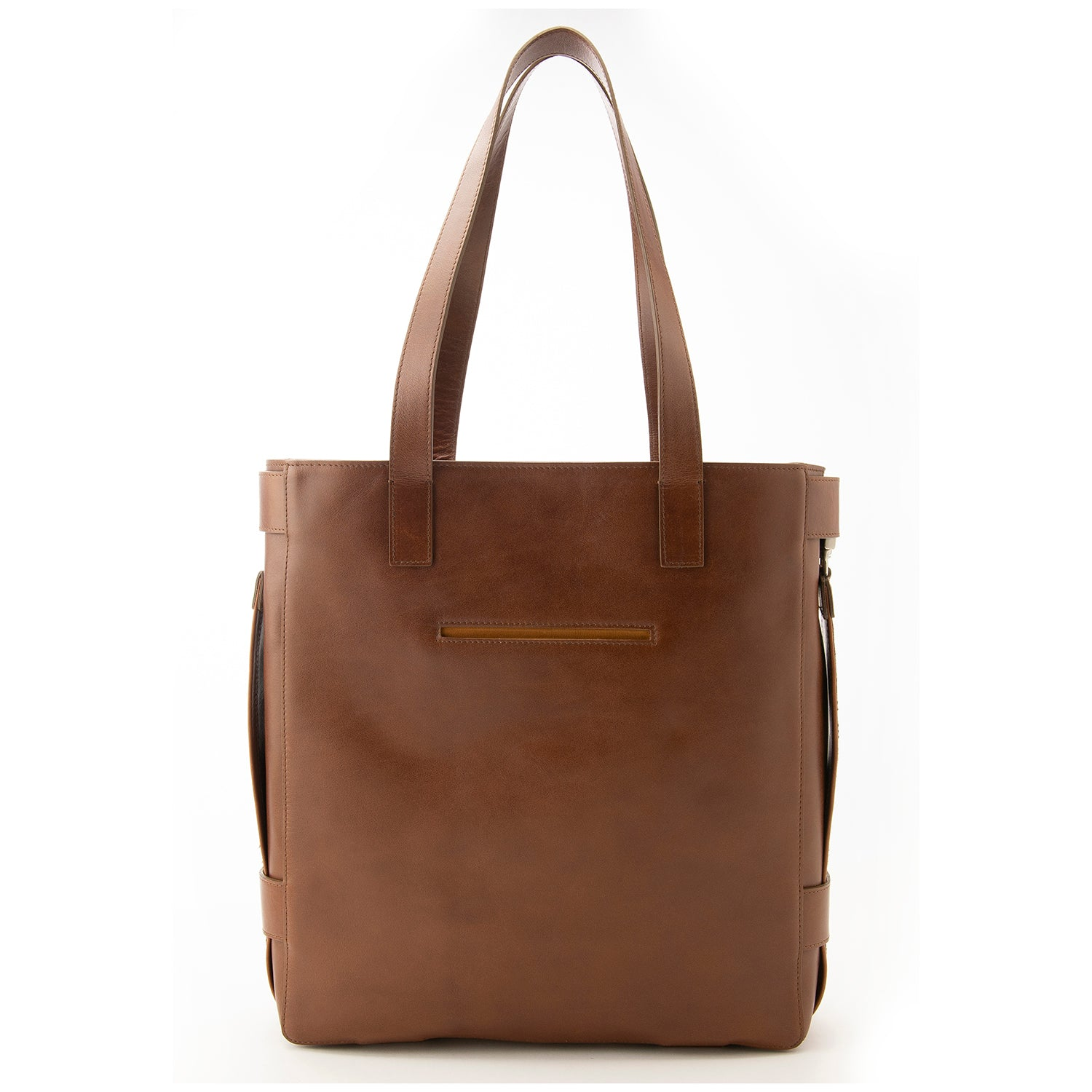 Brown Leather Terra Tote
