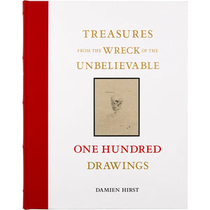 Damien Hirst — Treasures From The Wreck of the Unbelievable: One Hundred Drawings Volumes I & II Signed Special Edition in Slipcase (PREORDER)