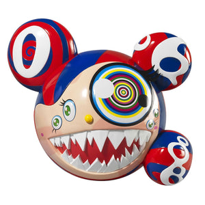 Takashi Murakami - Complexcon Mr. Dob (Red/blue)