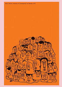 Barry McGee - Exhibition Poster