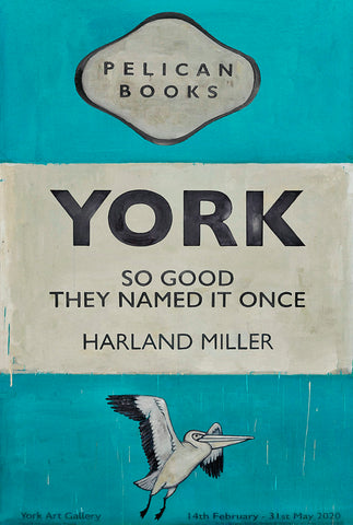Harland Miller - York Exhibition Poster