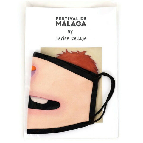 "Javier Calleja - Reusable Hygienic Face Mask (Adults) ""Smile"" Special Edition"