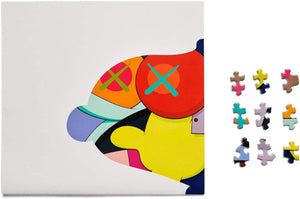 "Kaws - NGV Exclusive ""No On's Home"" 2019 Jigsaw Puzzle - Sealed"