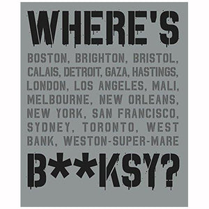 Banksy - Where's Banksy?: Banksy's Greatest Works in Context Hardcover