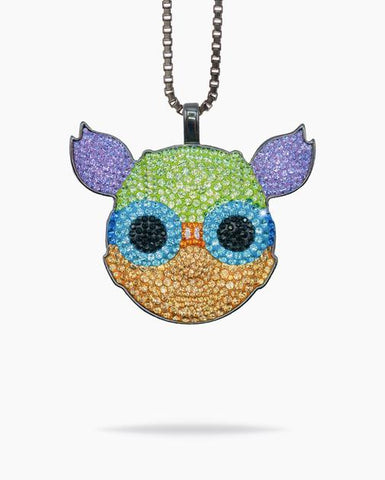 Hebru Brantley - Lil Mama Dan Life x Hebru Brantley pendant and chain