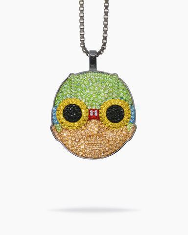 Hebru Brantley - FlyBoy Dan Life x Hebru Brantley pendant and chain
