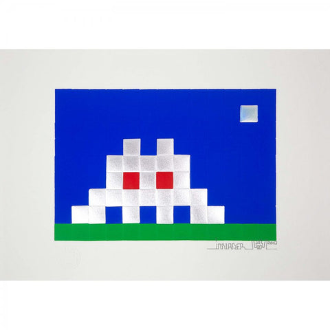 Invader - Home Earth Limited Print 2010