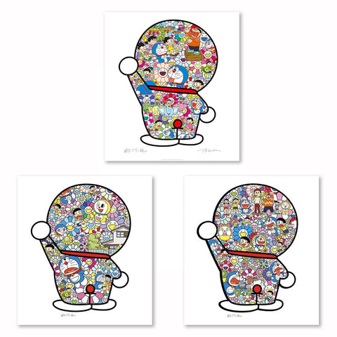 Takashi Murakami - Doreamon (Set of 3)