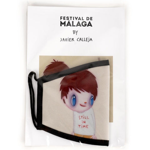 "Javier Calleja - Reusable Hygienic Face Mask  ""Still in Time"" Special Edition"