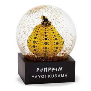 Yayoi Kusama - Snowglobes 2020 - Yellow and Black Pumpkin Motif