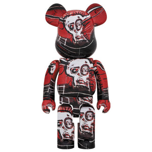 BE@RBRICK 1000% Jean Michel Basquiat #5