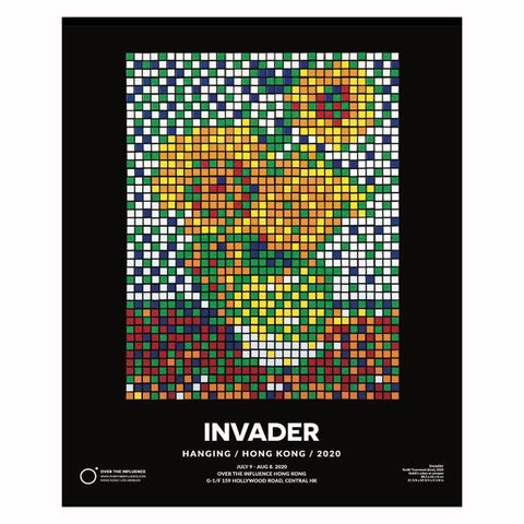 Invader Oti Poster Edition