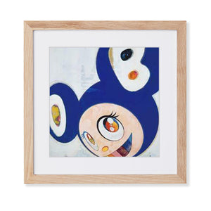 Takashi Murakami - Postcards Kai Kai Mr. Dob - Original Blue (Framed Official Print)