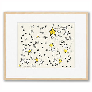 Andy Warhol - So Many Stars - Matted (Framed Official Print)