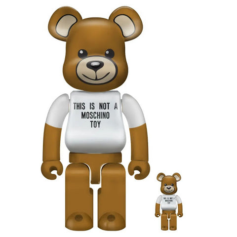 BE@RBRICK 400% + 100% Moschino Toy
