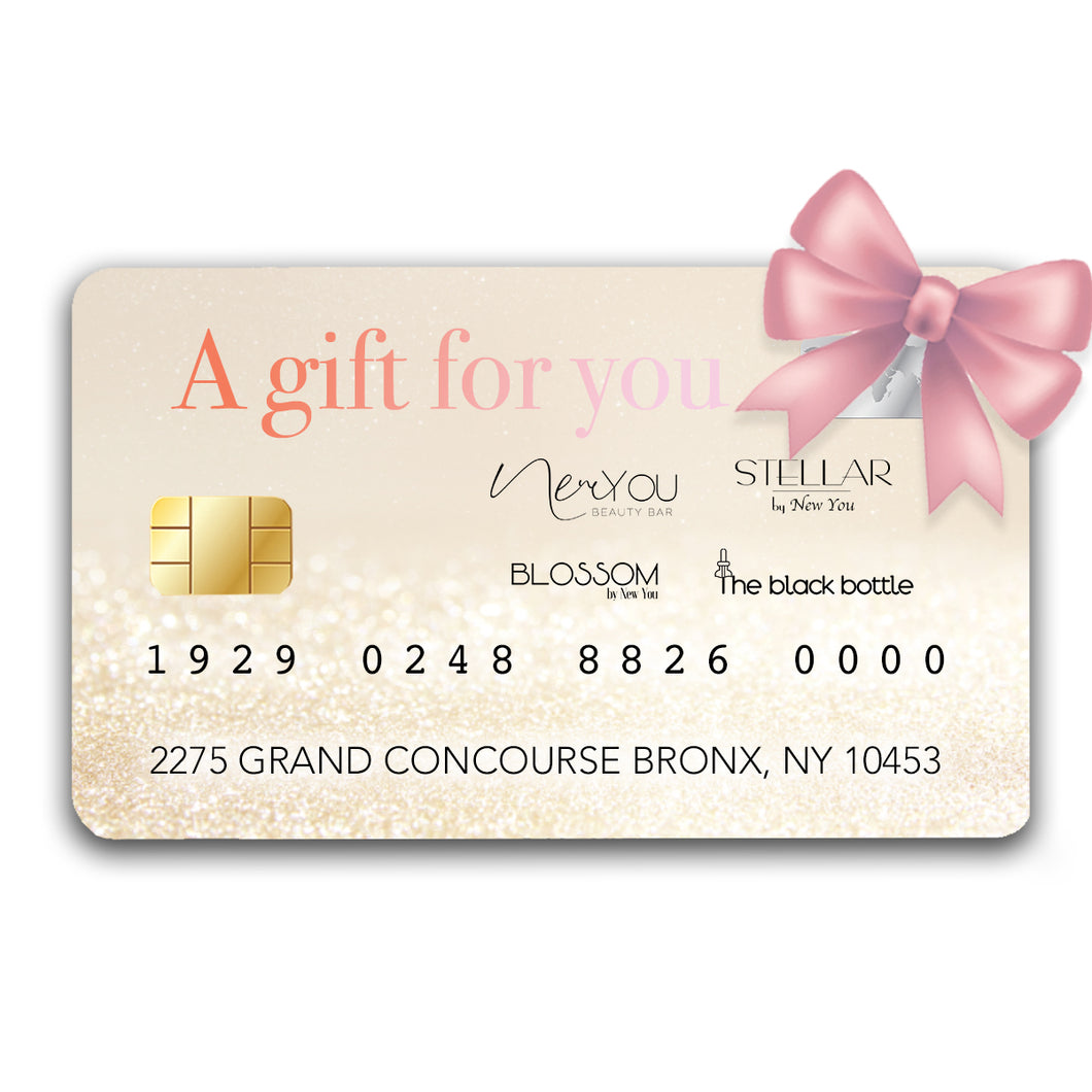 New You Gift Card