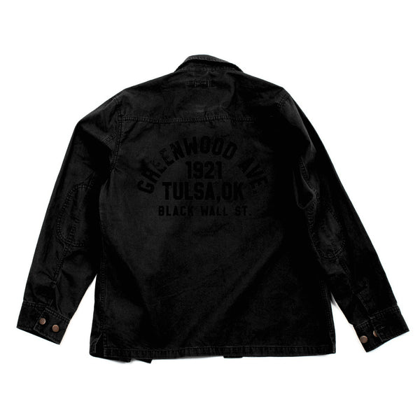 Army Shirt Jacket  (Black)