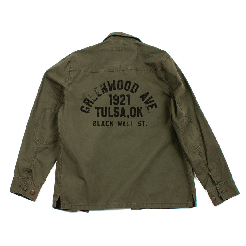 Army Shirt Jacket  (Green)