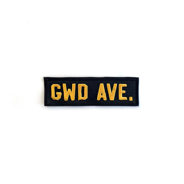 GWD AVE. Army Patch