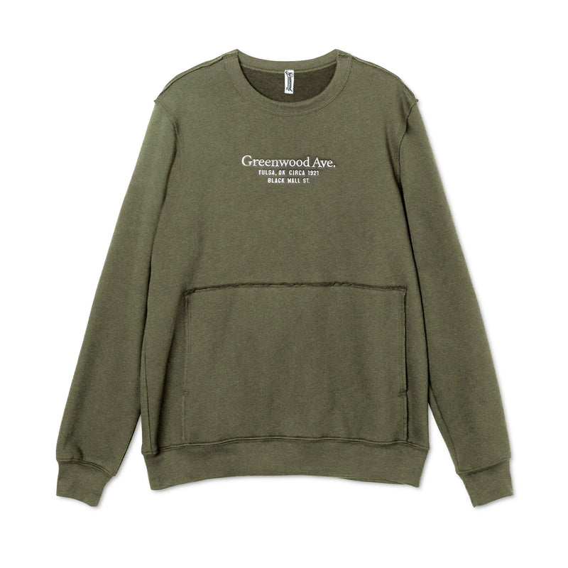 Serif Raw Edge S/S (Green)