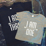 I AM THREE Crew Tee