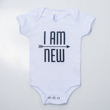 I AM NEW Onesie