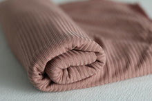 Load image into Gallery viewer, Pink ribbed jersey scarves