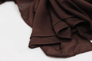 Brown galaxy scarves