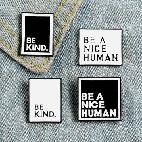 BE KIND Enamel Pins Set - Pinovations