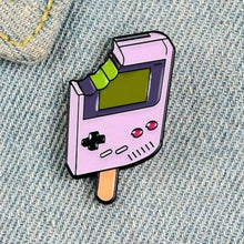 Load image into Gallery viewer, Gaming Popsicle Enamel Pin - Pinovations