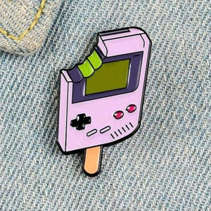 Gaming Popsicle Enamel Pin - Pinovations