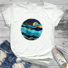 Load image into Gallery viewer, Summer New Women Fashion T-shirts
