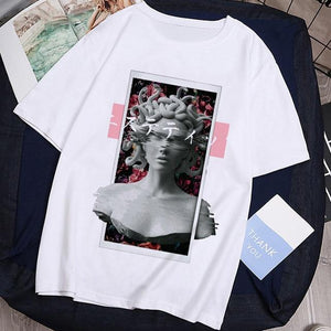 Female T-shirts Women Oversized