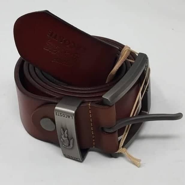 054db93aef8650 Lacoste brown male original leather Belt – Ripo.com.ng