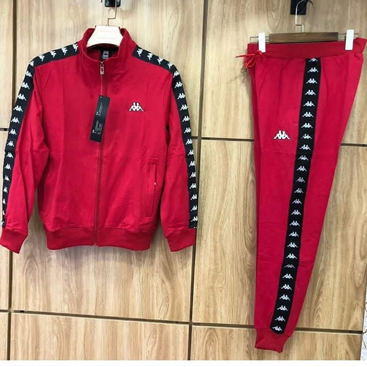 1d399ab88a Kappa Red Tracksuit