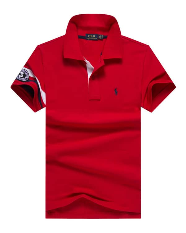Fit Lauren Slim Red Pique Ralph Polo Pony Small 8nkNPZXw0O