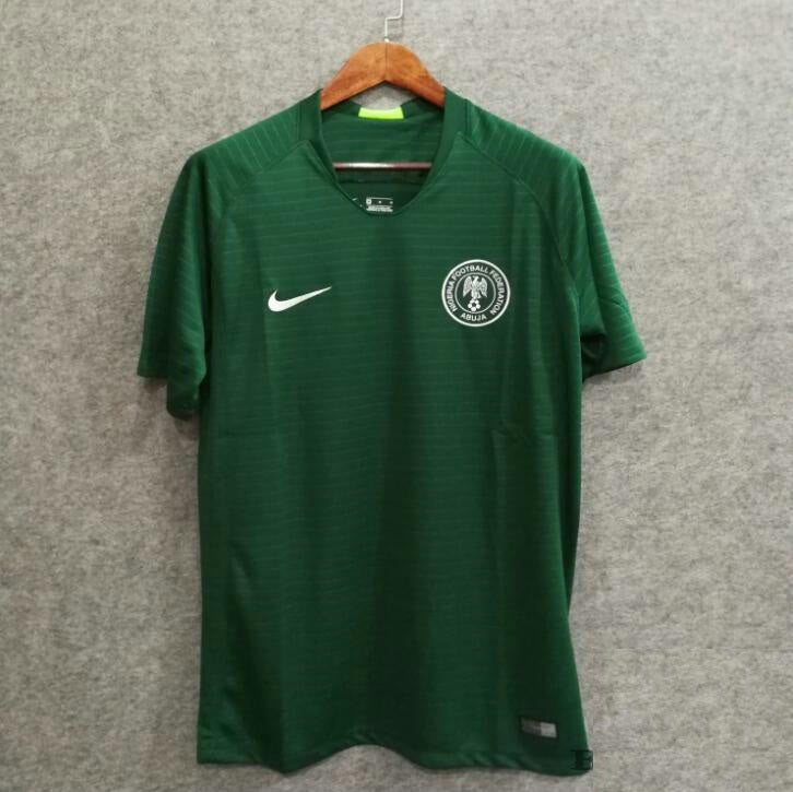 the best attitude 0d276 b92bc Male 2018 Nigeria Away Soccer Jersey