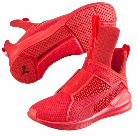 separation shoes dccfd 061f7 Puma Fenty Trainer - Red Rihanna