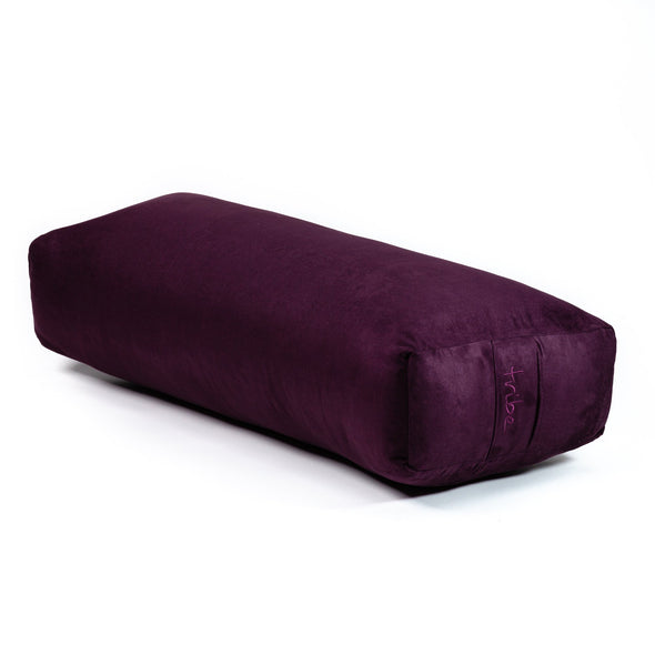 Rectangular Bolster - Amethyst - 45 degrees angle | TRIBE Yoga