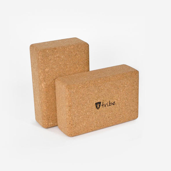 Cork Block Slim horizontal & vertical | TRIBE Yoga