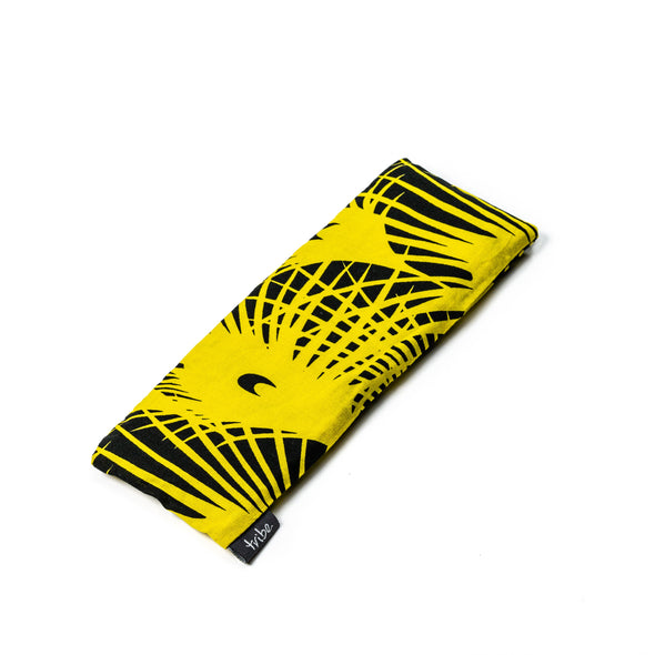 Still Me Eye Pillow - Yellow Crescent | TRIBE Yoga